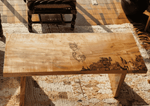 mermaid coffee table - deadwood originals
