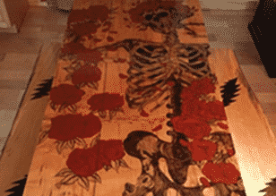 Grateful Dead Bertha Dining Table